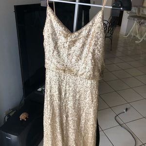 Jenny Yoo Collection Gold Gown